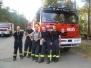 Požár lesa u Bzence - 2012