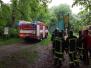 Požár na kurtech v Lysicích - 2013