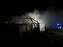 Požár stáje ve Voděradech - 2012