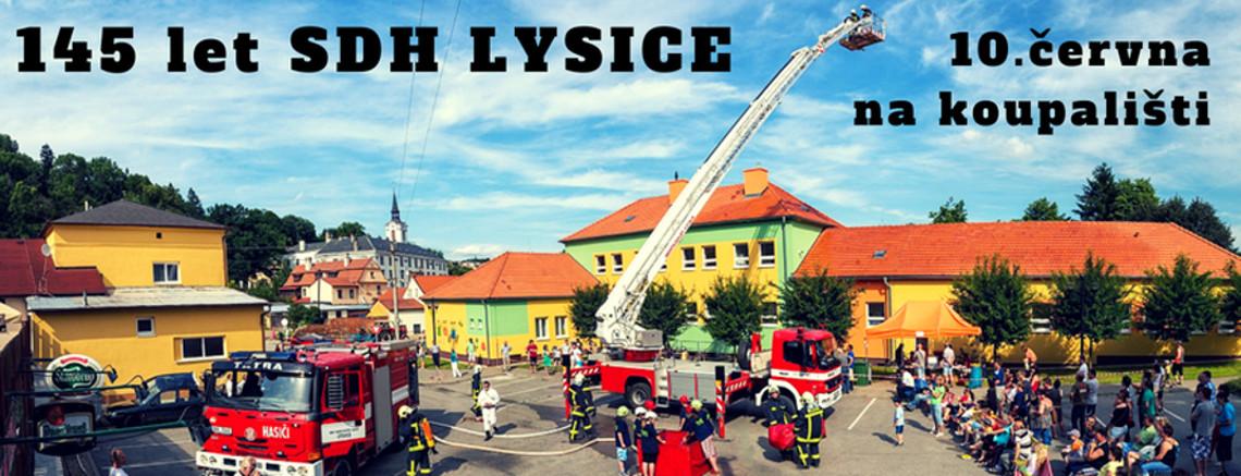 Výročí 145 let od založení SDH Lysice
