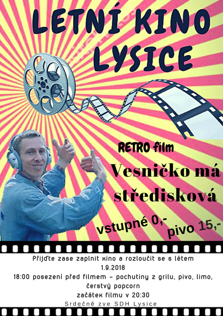Retro kino Lysice 2018