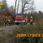 Shrnutí roku 2020 z pohledu zásahové jednotky JSDH Lysice